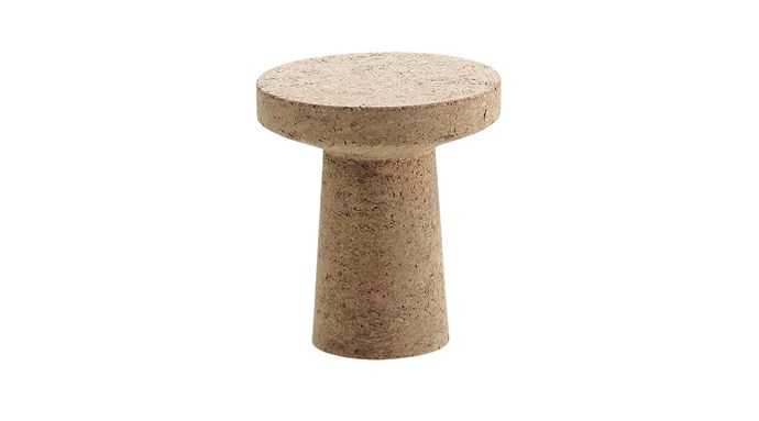 "Vitra 'The Cork Family' stool/side table, $785, [Living Edge](https://livingedge.com.au/products/seating/stools|target=""_blank""