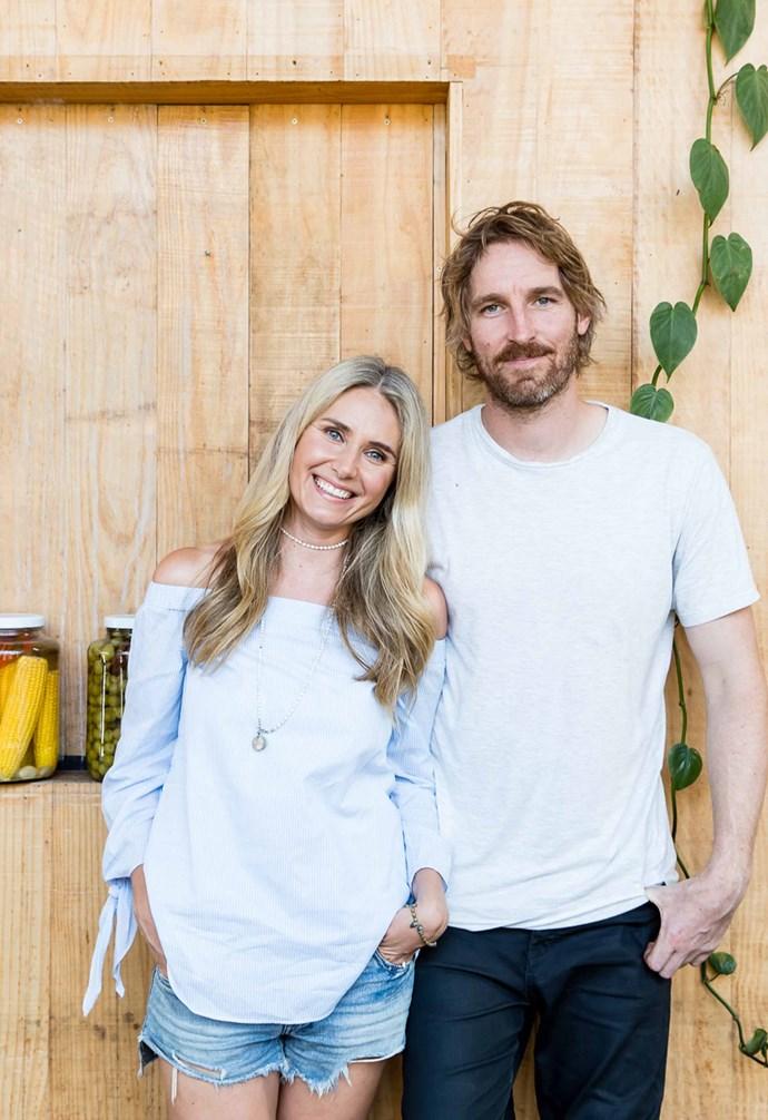 Darren Robertson with wife Magdalena Roze. *Photography: Nolan Verheij-Fill*.