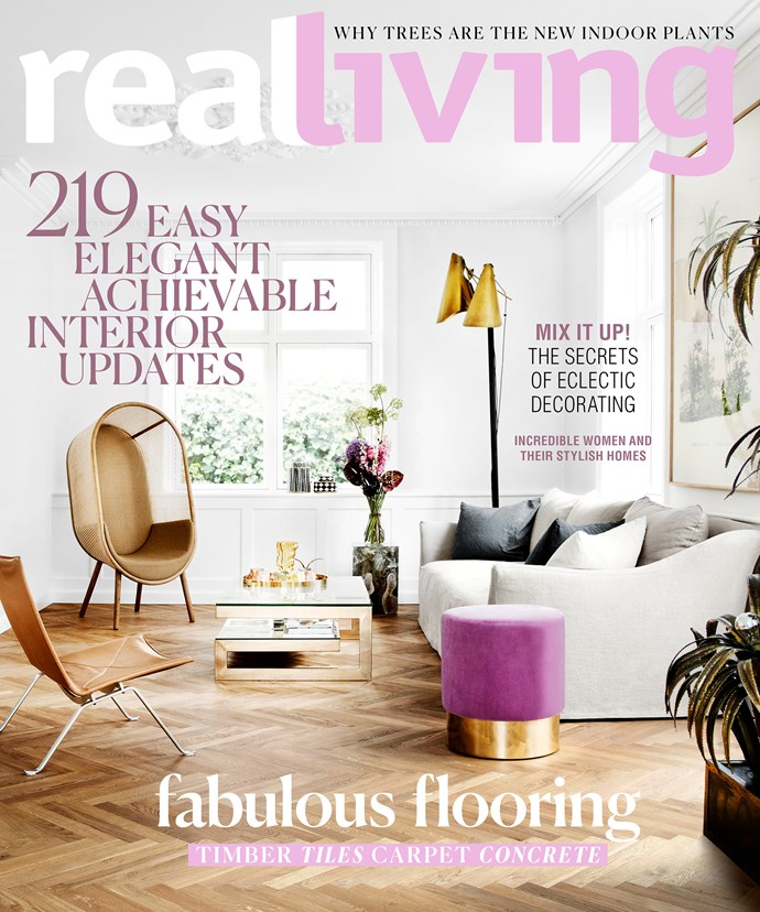 Want more? Pick up a copy of our April issue - on sale now - we look to international runways, wardrobes and the homes of the most fashionable for decorating inspiration and the latest trends.