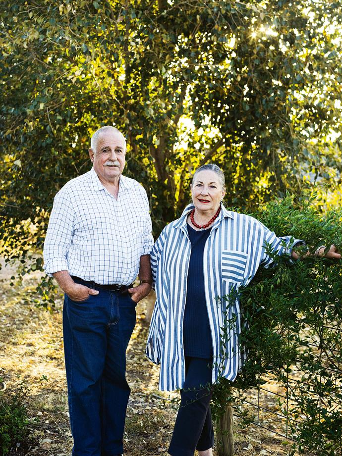 Michael and Barbara Jeffery.