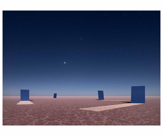 "*Array 11 (Venus and Jupiter)*, 2018, digital pigment print, Murray Fredericks. *Image courtesy of [Arc One Gallery Melbourne](https://arcone.com.au/|target=""_blank""|rel=""nofollow"")*."