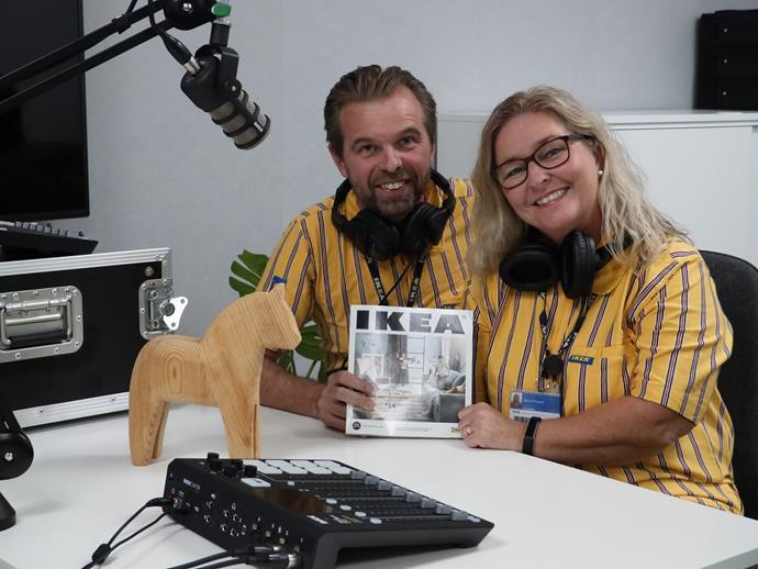 Sara and Kent Eriksson are here to help you sleep. *Photo:* IKEA