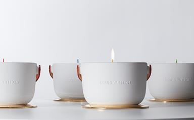 Louis Vuitton teams up with Marc Newson on a luxury candle range