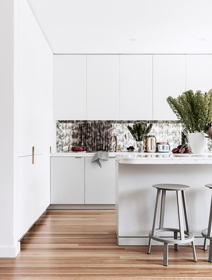 A custom kitchen in the home of Newcastle, NSW, interior designer Stewart Horton; it came in at about $35,000 (excluding appliances).