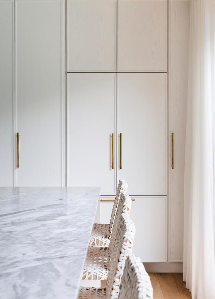 Custom joinery in a project by Bondi Kitchens and Shipman Interiors.