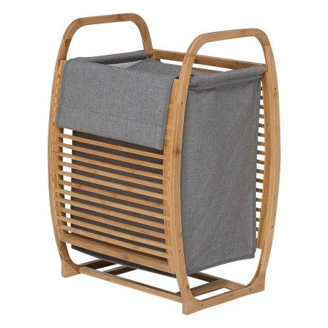 """'Christine' laundry hamper, $59, from [Freedom](https://fave.co/2IguifA