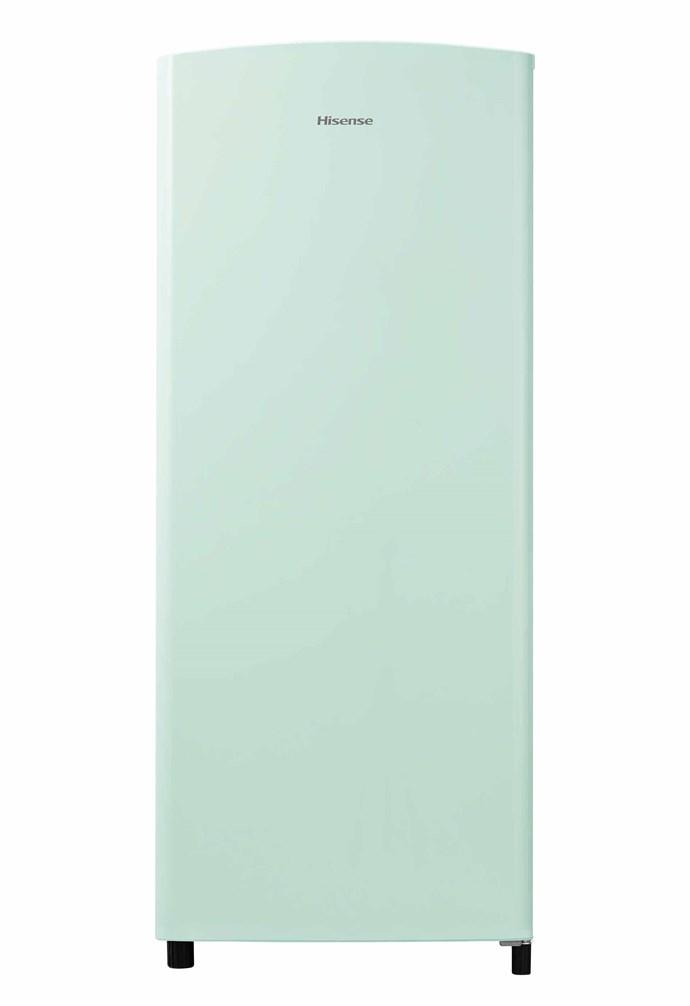 "170L bar fridge in Green, $499, [Hisense](https://hisense.com.au/|target=""_blank""|rel=""nofollow"")."