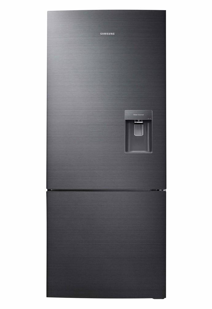 "Samsung 455L bottom-mount fridge in Metallic Black, $1188, [Harvey Norman](https://www.harveynorman.com.au/|target=""_blank""|rel=""nofollow"")."