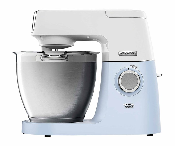 "Kenwood Chef Sense XL mixer in Blue, $499, [Harvey Norman](https://www.harveynorman.com.au/|target=""_blank""|rel=""nofollow"")."