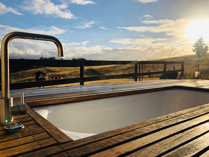 """While many tiny home experiences involve living with the bare essentials, TinyHome Private Escape is a little different. Located on a private organic farm in the heart of the Adelaide Hills, these custom-built cabins with bespoke interiors offer an outdoor bath and rain shower with breathtaking views. Visit [tinyhomeprivateescape.com](https://www.tinyhomeprivateescape.com/