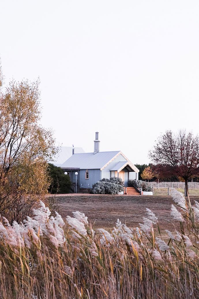 The Woolshed at Mona Farm is a popular wedding location.