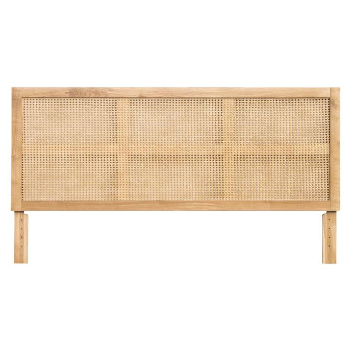 "Raffles Queen Natural Rattan headboard, $499, [Freedom](https://www.freedom.com.au/bedroom/bed-heads/all-bed-heads/24143981/raffles-queen-headboard-honey|target=""_blank""