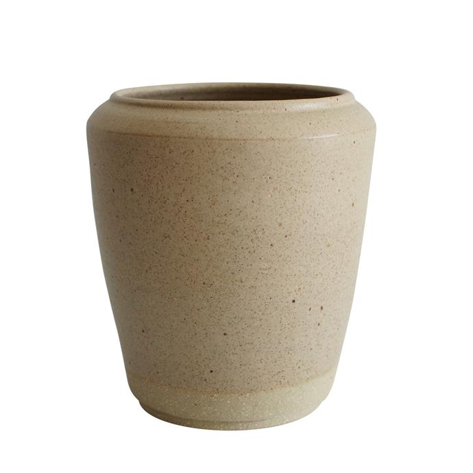 "Stoneware vase, $130, [Wingnut & Co.](https://wingnutand.co/collections/for-flowers-arranging|target=""_blank""
