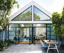 A modern glass extension refreshed this Scandi-style house