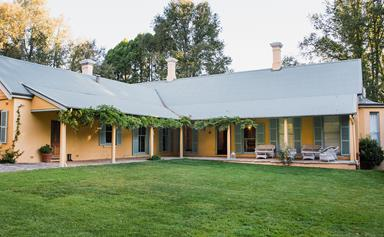Mona Farm at Braidwood offers luxury, art-filled accommodation