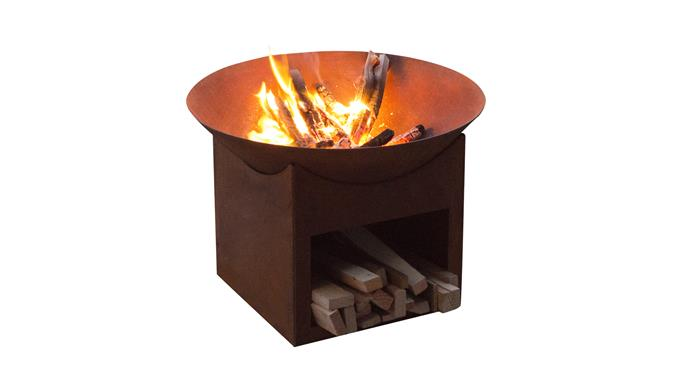 """Glow Tambo Cast Iron Fire Pit, $69, at [Bunnings](https://www.bunnings.com.au/glow-tambo-cast-iron-fire-pit_p3171835