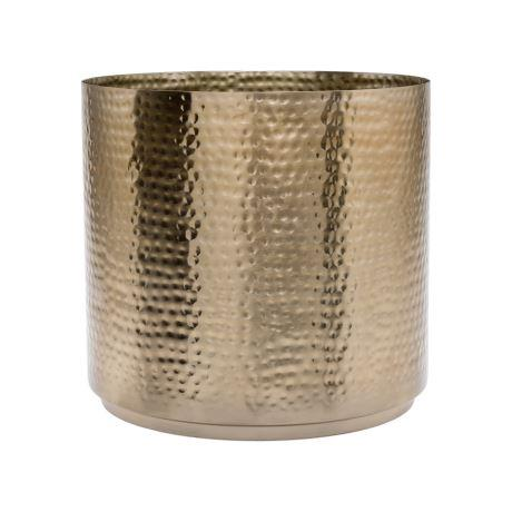 "HAMMERED 23cm Planter in Brass, $44, [Freedom](https://www.freedom.com.au/outdoor/outdoor-decorator/all-outdoor-decorator-items/23928046/hammered-23cm-planter-brass-colour?reflist=outdoor/outdoor-decorator|target=""_blank""