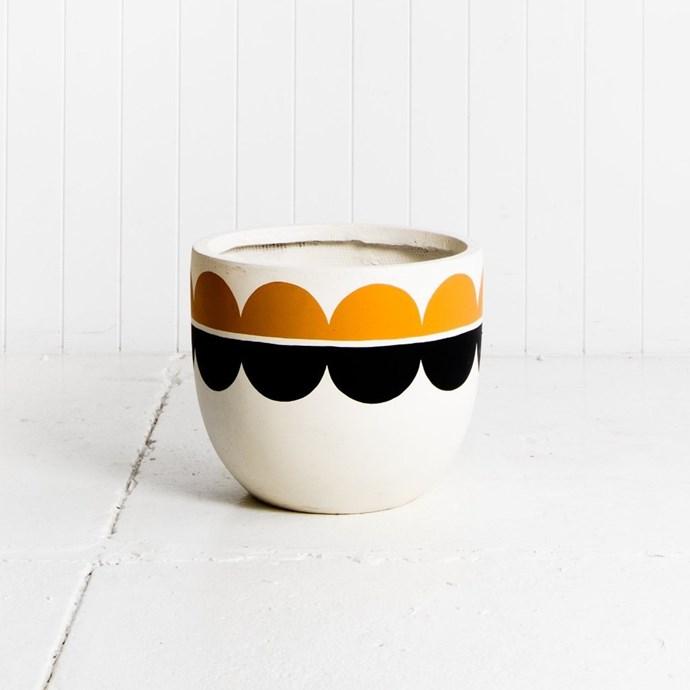 "'Rosso' pot, from $145, [Pop & Scott](https://www.popandscott.com/collections/pots/products/pots-rosso|target=""_blank""|rel=""nofollow"")"