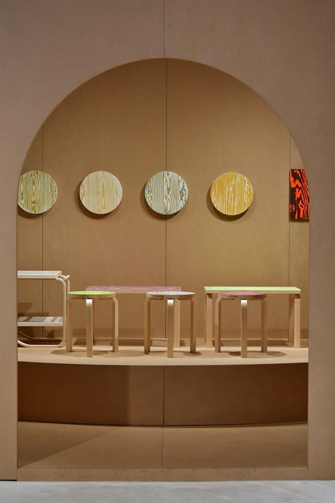 A new 2019 palette for a classic Alvar Aalto design at Artek.