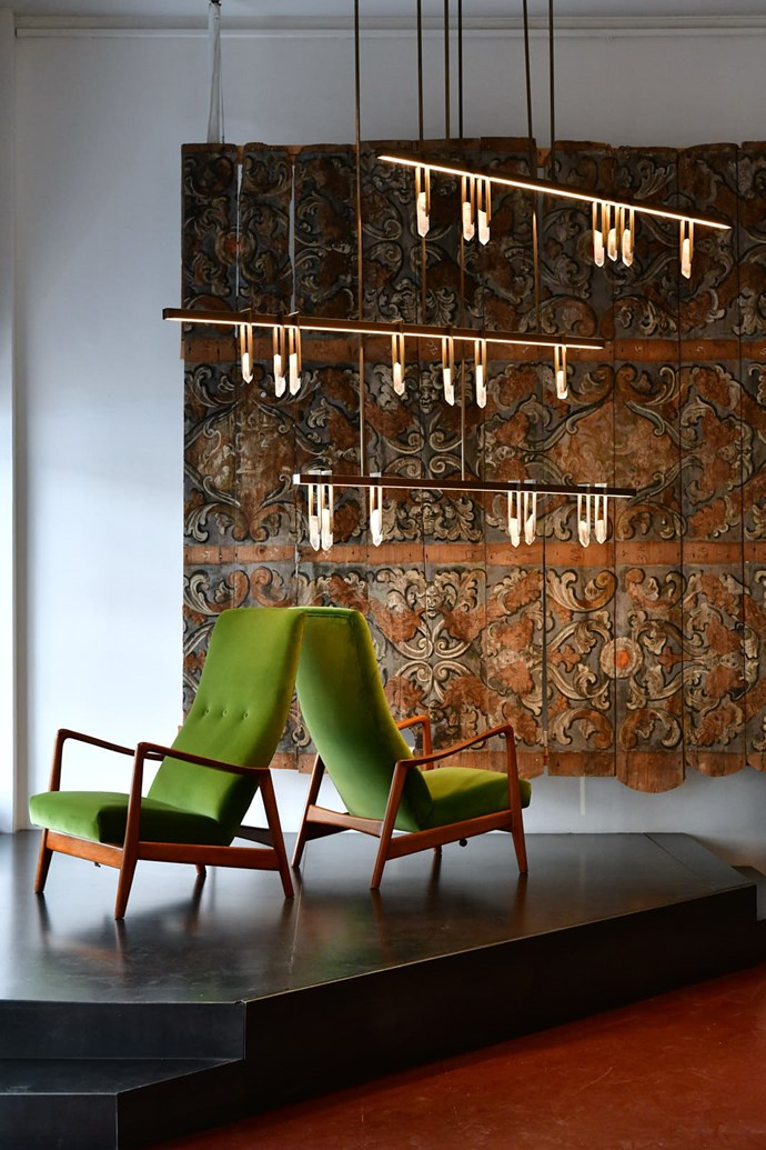 Pendants with panache at the first solo exhibition in Milan for Australia's Christopher Boots.