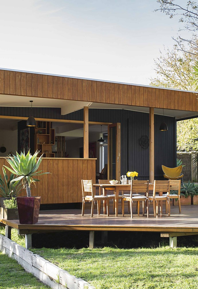 This [renovated timber-clad sustainable house](https://www.homestolove.com.au/timber-clad-sustainable-house-17545) clocked in at $100k. *Styling: Ruth Welsby | Photography: Martina Gemmola*.