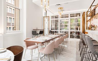 A new luxury champagne parlour and bar has opened in Sydney