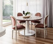 Round dining room table design ideas