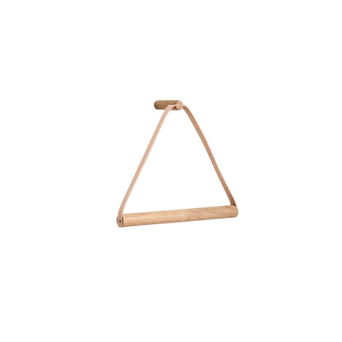 """By Wirth natural towel hanger, $109, [Simple Form](https://simpleform.com.au/