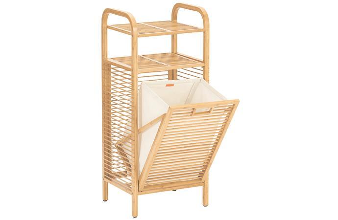 "Lina bamboo clothes hamper, $149.95, [Sheridan]9https://www.sheridan.com.au/lina-bamboo-clothes-hamper-s0av-b960-c151-434-natural.html|target=""_blank""|rel=""nofollow"")."