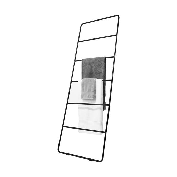 "Decorative Metal Ladder, $20, [Kmart](https://www.kmart.com.au/product/decorative-metal-ladder/1880340?cm_vc=PDPZ1|target=""_blank""|rel=""nofollow"")."