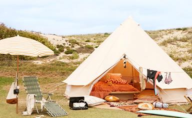 8 creative ideas to turn camping into glamping
