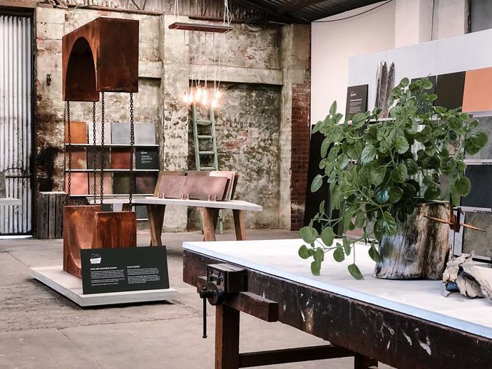 The divine Concrete Studio showroom in Fremantle, WA
