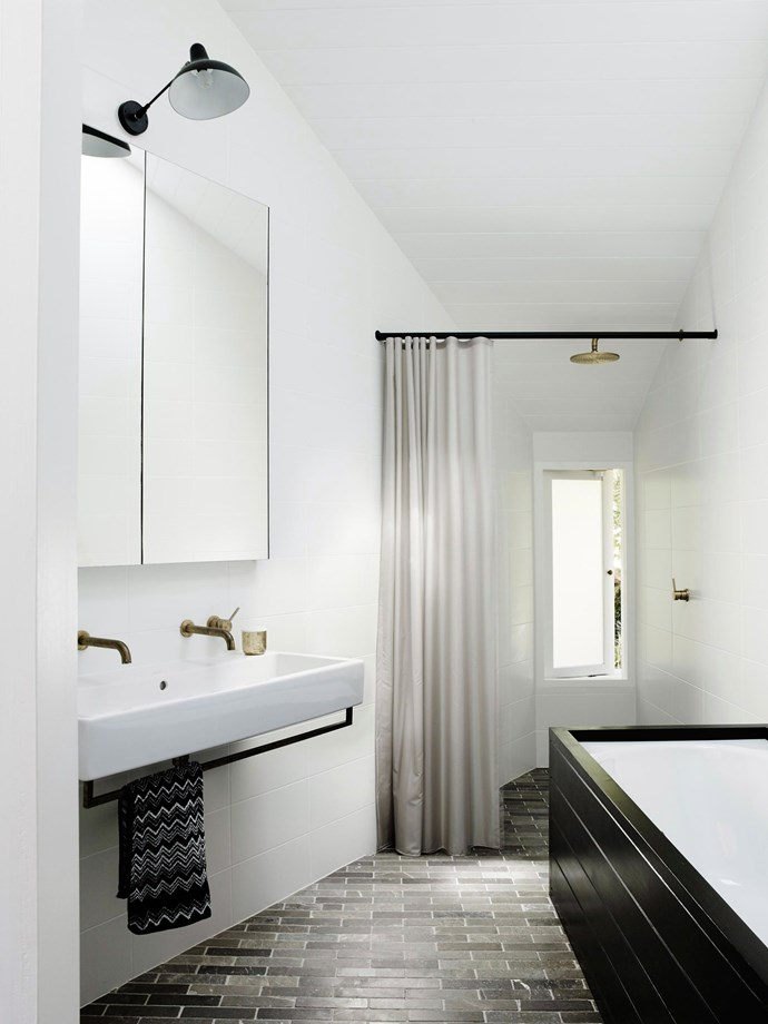 Shower curtains made from natural fibres are better for the environment and your health, but may require more maintenance and care than PVC curtains. *Photo: Prue Ruscoe / bauersyndication.com.au*