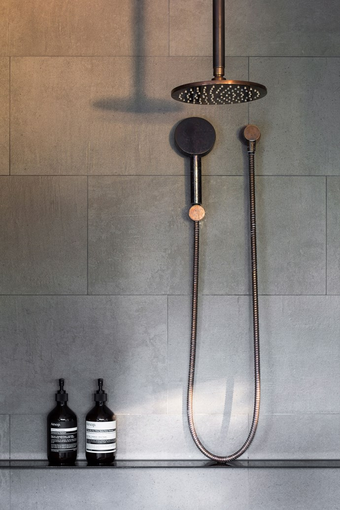 Wiping down the shower daily, with either a squeegee or microfibre cloth, is a good way to reduce soap build up and mould growth. *Photo: Martina Gemmola / bauersyndication.com.au*