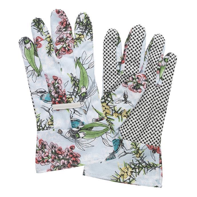"Ecology May Gibbs Blossom **gardening gloves**, $16.95, from [Everten](https://fave.co/2GfytHi|target=""_blank""|rel=""nofollow"")."