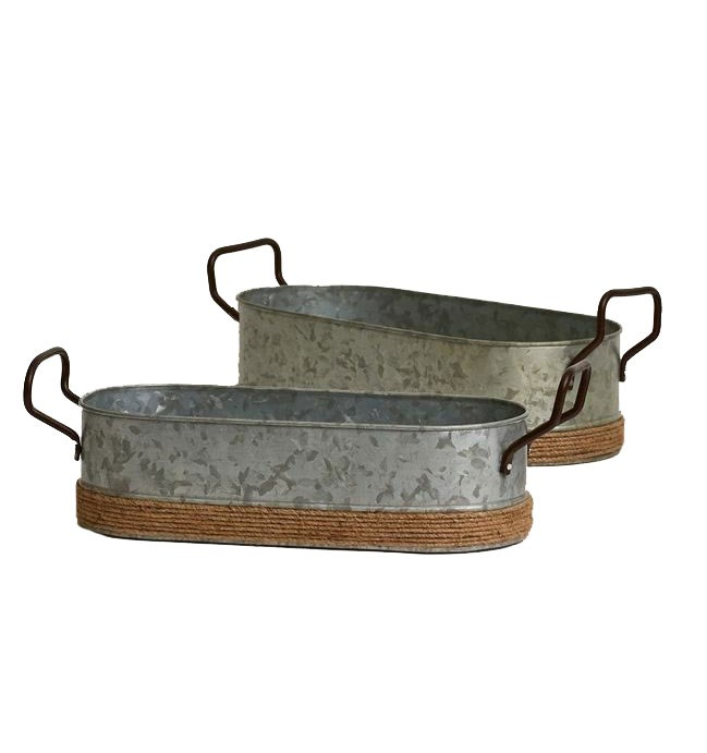 """Oval herb **planters**, from $20-30, from [Saarde](https://www.saarde.com/oval-herb-planters-set-of-3~7181