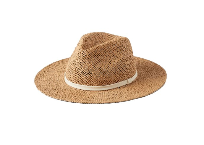 "'Yorke' **straw hat** in sand, $99, from [Will & Bear](https://willandbear.com/products/yorke-sand|target=""_blank""|rel=""nofollow"")."