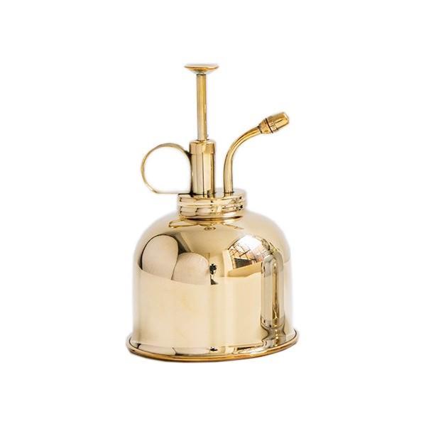 "Haws mist sprayer in brass, $55, from [Biome](https://fave.co/2uZ8ehK|target=""_blank""|rel=""nofollow"")."