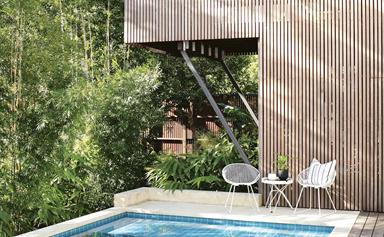 A beach house in Noosa was given a family-friendly renovation