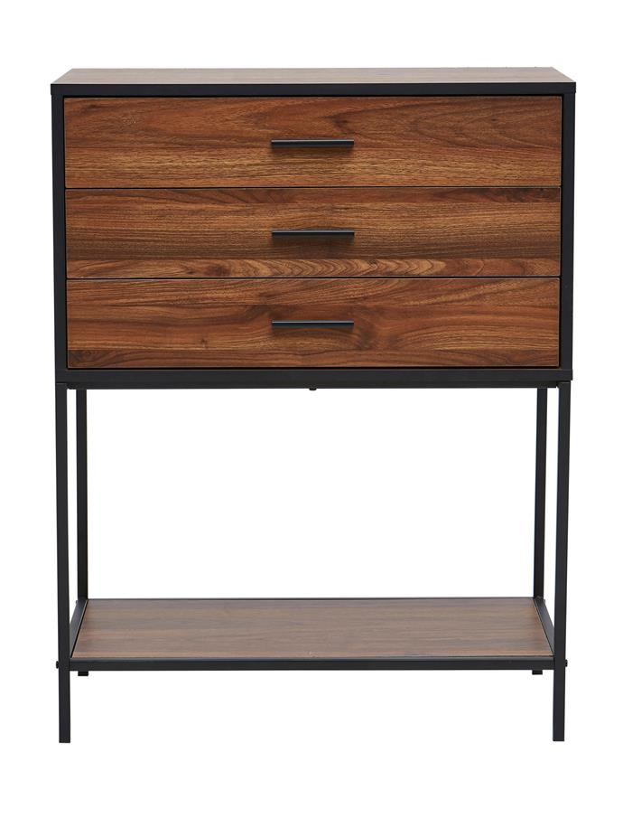 'Heathrow' **sideboard** (95cm x 44cm x 15.5cm), $69.
