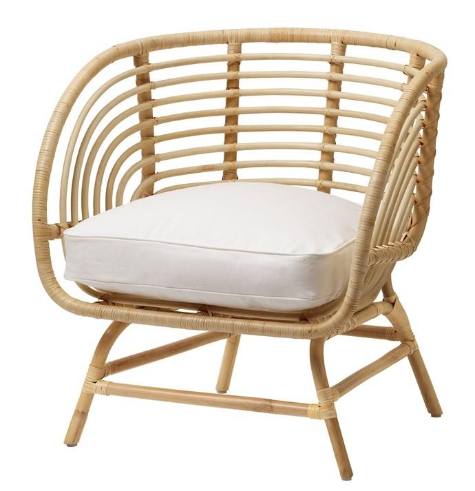 BUSKBO armchair, $169.