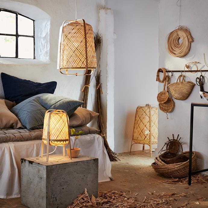 The KNIXHULT lamp range has been adapted to also make use of the darker types of bamboo, which are usually thrown away. This has meant the usage of raw material has gone up from 20% to 65%.