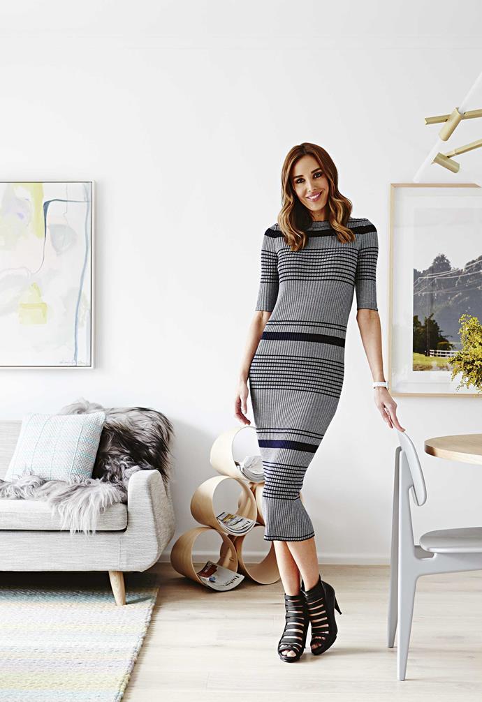 Lifestyle and fashion blogger Bec Judd.