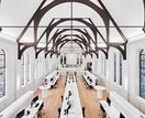 A converted church turned architectural and interior design studio