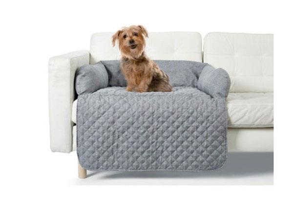 Pet quilted **couch topper**, $20.