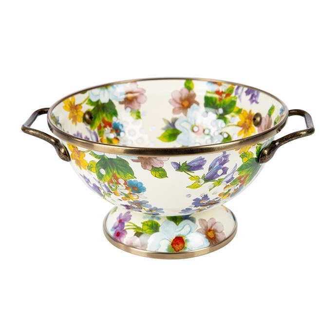 "McKenzie-Childs 'Flower market' **colander**, $131, from [Amara](https://fave.co/2GyOqr8|target=""_blank""|rel=""nofollow"")."