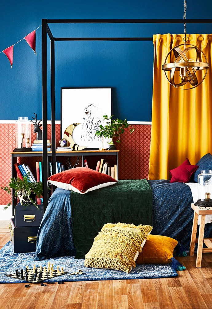 "*Styling: Jono Fleming with assistance by Alex Austin | Photography: Kristina Soljo. Wash & Wear paint in Dilly Blue, $91.55 for 4L, [Dulux](https://www.dulux.com.au/|target=""_blank""