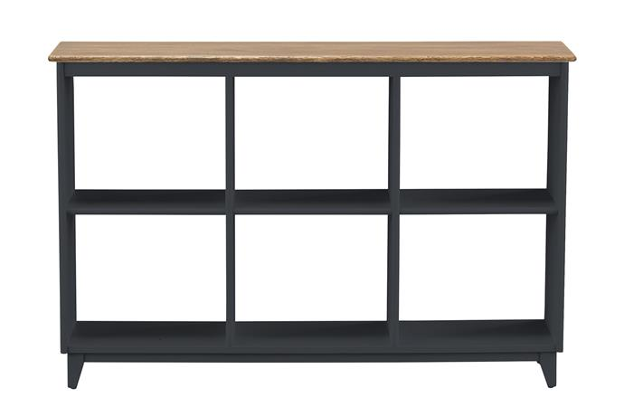 "**Storage unit** A console or shelves are great for displaying books and a few of their favourite things. Maine pigeonhole shelf unit, $549, [Early Settler](https://www.earlysettler.com.au/|target=""_blank""