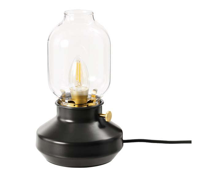 "**Light up** This charming table lamp will look perfectly at home when you're adventuring through the Forbidden Forest. Tärnaby table lamp, $29.99, [IKEA](https://www.ikea.com/|target=""_blank""