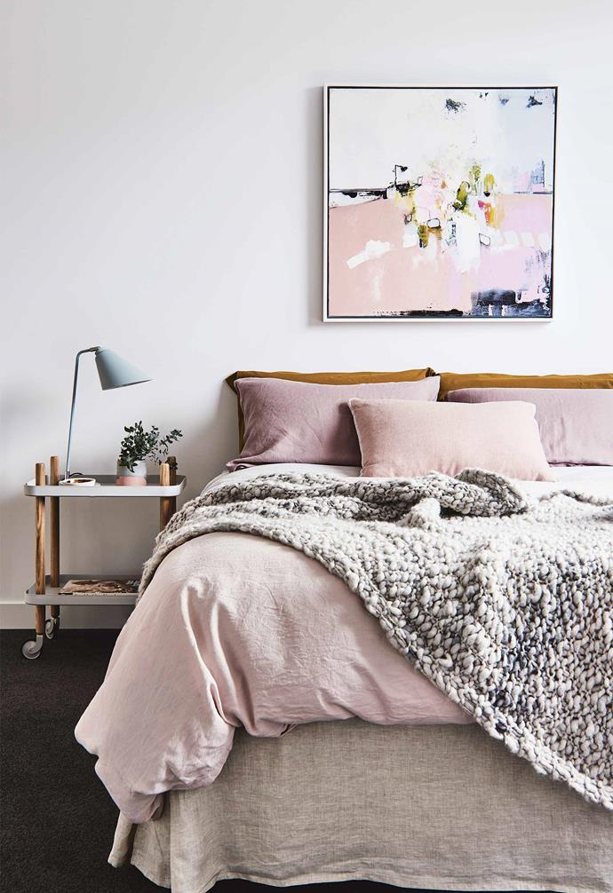 *Styling: Aimee Tarulli   Photography: James Geer   Image courtesy of Archer Interiors   Artwork: Michael Bond*.
